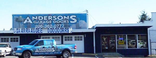 Andersonu0027s Door Company Storefront