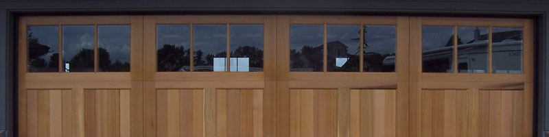 Amazing Wood Garage Door